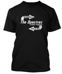 BathroomWall T-shirts -   STATUS QUO inspired THE SPECTRES #tshirts