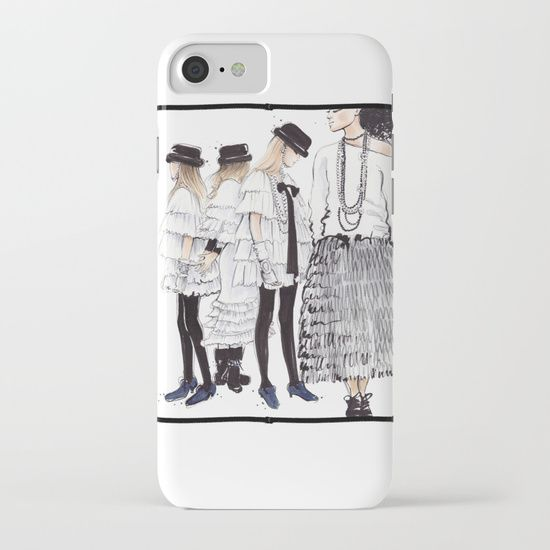 Society6 | $38.00 | Our Slim Cases are constructed as a one-piece, impact resistant, flexible plastic hard case with an extremely slim profile. Simply snap the case onto your phone for solid protection and direct access to all device features