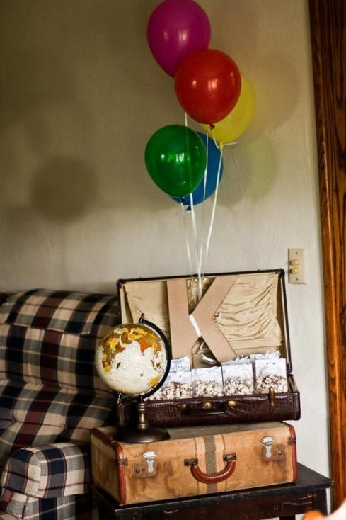 """""""Up"""" themed bridal shower"""