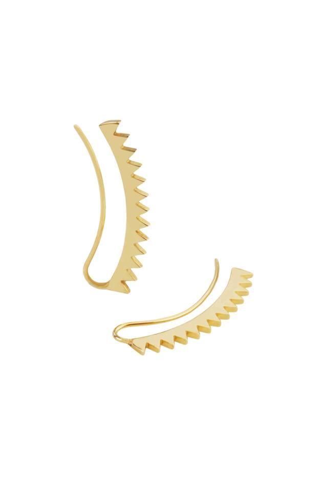 Carmen Diaz Jewelry Sierra Ear Pin in 14k Gold at ShopGoldyn.com