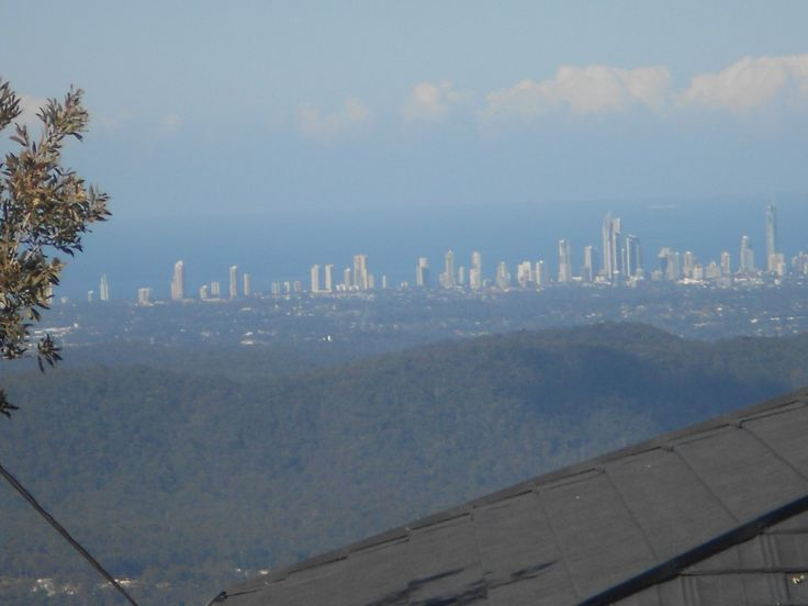 Gold Coast in the distance...