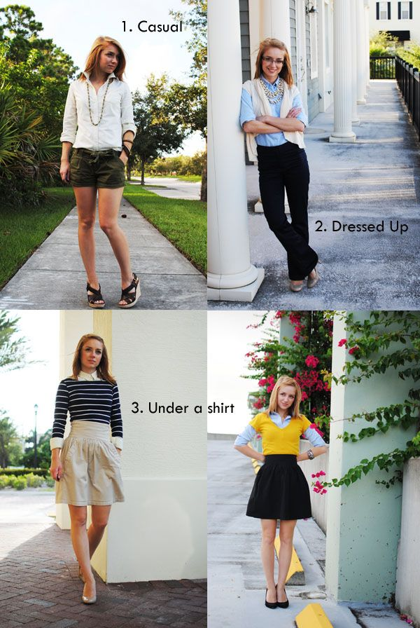 How to wear an oxford.