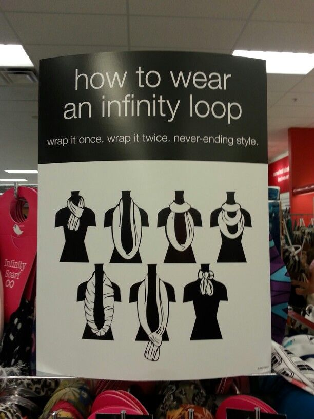 How To Wear An Infinity Scarf Wow Info Pinterest