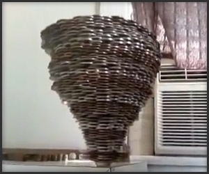 Crazy Coin Stacking--WOW!!