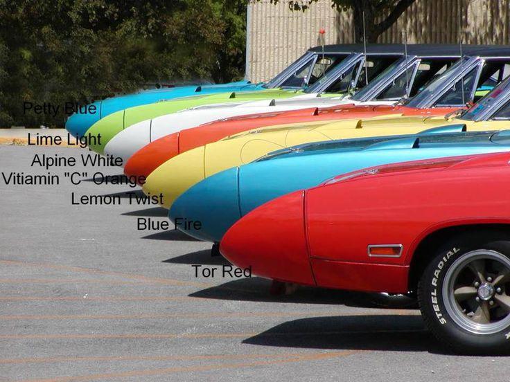 Mopar Color Chart Mopar Muscle Pinterest Mopar Colour