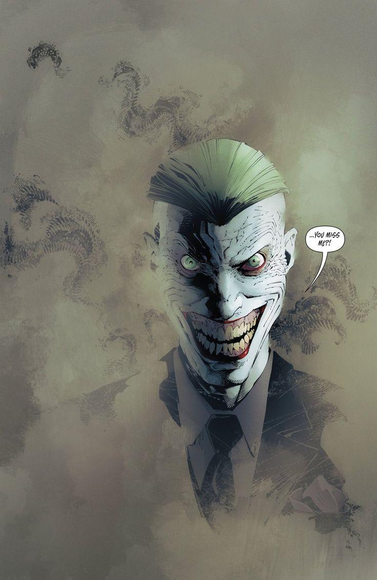 Batman #36 - The Joker by Greg Capullo