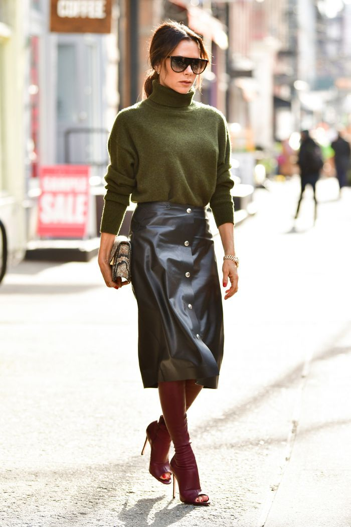 Minimalistic Style Icons: Victoria Beckham