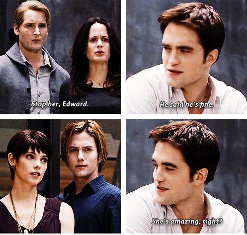 Haha...laughed till I cried...Edward finally gets a little vengeance!