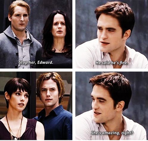 Haha...laughed till I cried...Edward finally gets a little vengeance!