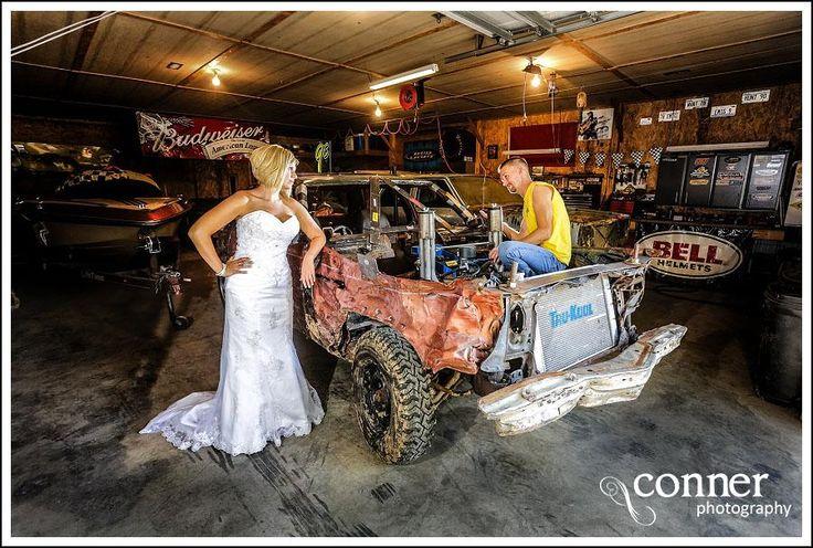 Demolition Derby & Hidden Lake Winery Wedding Bridal Photos (14)