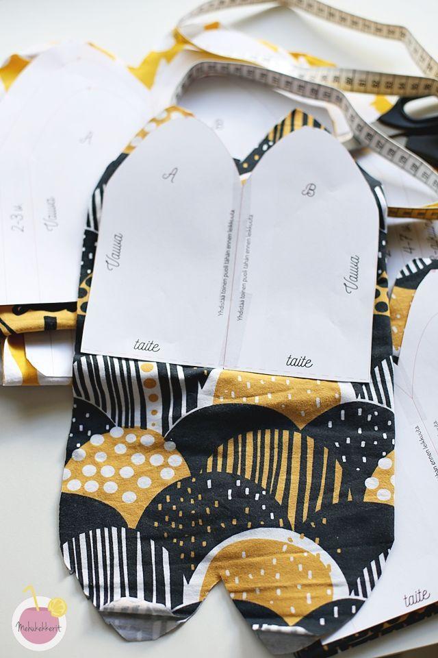 Trikoopipon kaava ja ohje pipon ompeluun | Video and free pattern for a jersey beanie hat