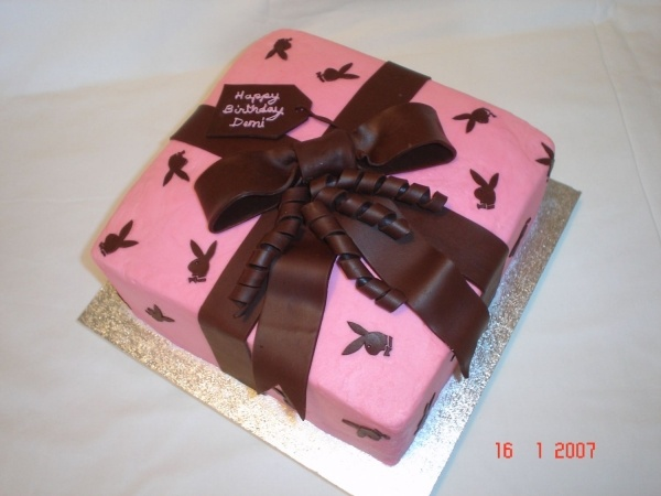Playboy Cake Design : Playboy Birthday Cake Food! Pinterest Cakes, Playboy ...