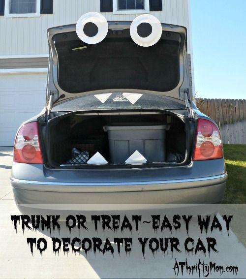 Diy Trunk Or Treat Ideas For Cars