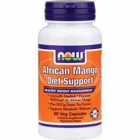 African Mango Diet Support - NOW - 60 capsules  NOW African Mango Diet Support bevat WellTrim iG een gepatenteerd African Mango (irvingia gabonensis) extract dat klinisch onderzocht is voor zijn effecten op gewichtsbeheersing en een gezonde stofwisseling. Een klinische studie met WellTrim iG liet zien dat dit extract een gezond gewicht en lichaamssamenstelling kan helpen ondersteunen alsook een normale bloedsuikerspiegel.  EUR 21.90  Meer informatie