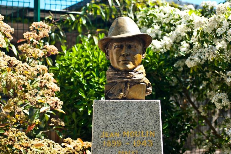 Jean Moulin, Jardin des Plantes, Toulouse, France
