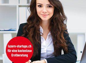 Werbekampagne Startup Support für Wirtschaftsförderung Luzern. Rocket für Wirtschaftsförderung Luzern: Kampagnenplanung, Grafische Gestaltung und Mediaplanung