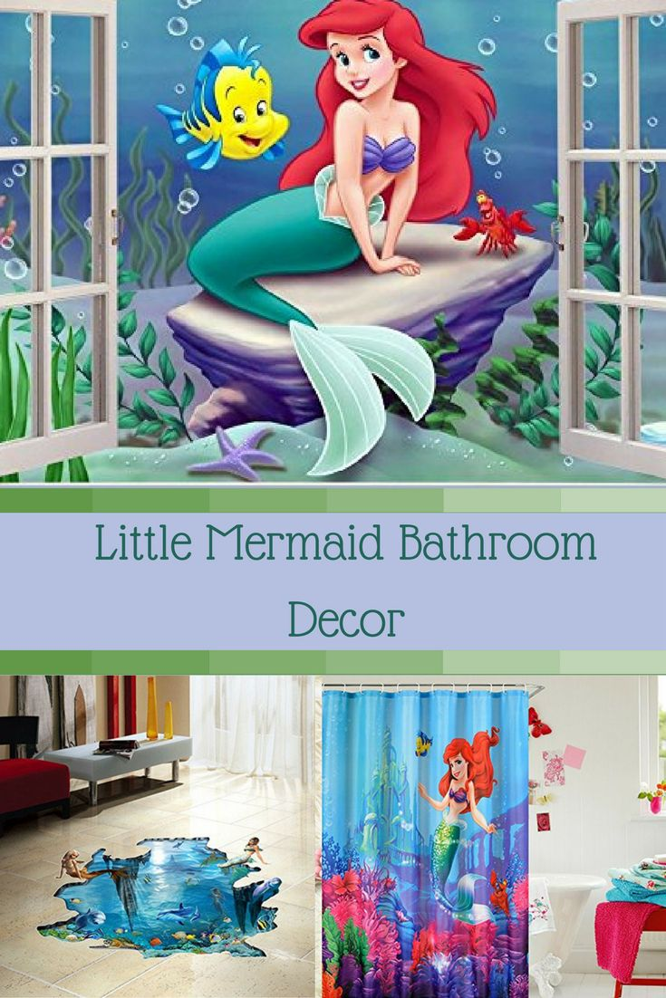 Little Mermaid Bathroom Accessories