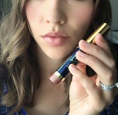 LipSense Beige Champagne with Lip Sense Glossy Gloss