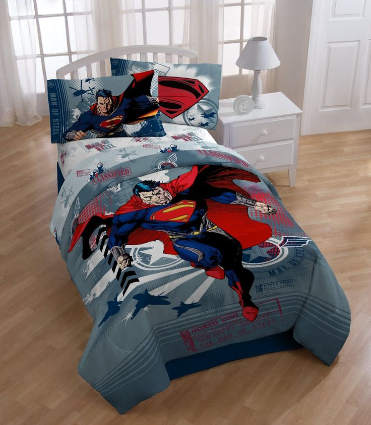 Superman Man of Steel Comforter
