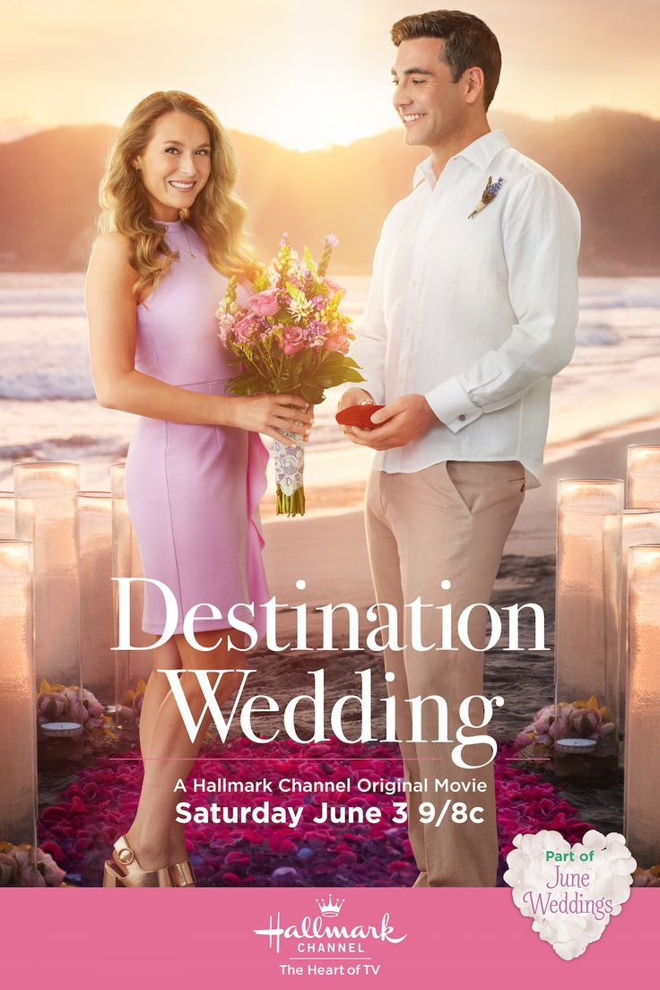 "Alexa PenaVega and Jeremy Guilbaut star in ""Destination Wedding"" - part of June Weddings on Hallmark Channel.  Make a date to celebrate love with us all month long! #JuneWeddings #HallmarkChannel"