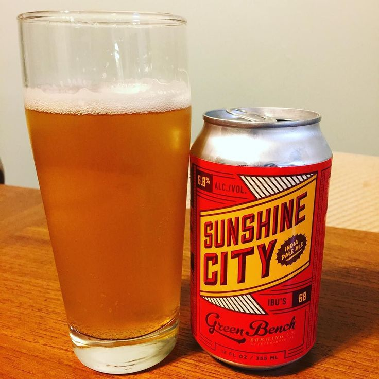 A very tropical IPA from #greenbenchbrewing  Notes of  could crush a few of these. #ipa #hophead #hoppycraftsmen #podcastlife #sunshinecity #craftbeerlove #beergeeks