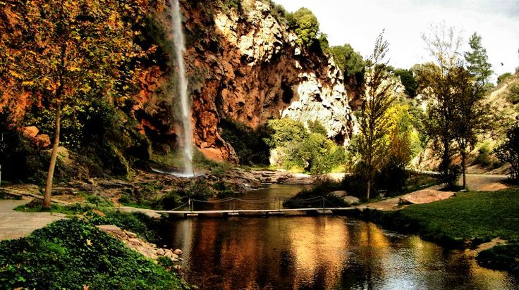Photo by Marcos Robles  Would you jump for love? Discover Salto de la Novia in Spain! More at: www.surgemag.org