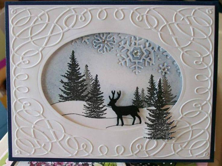 Best 25 Winter Cards Ideas On Pinterest DIY Snowflake