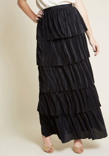 6c7e1fddbeadfe Tiers to You Pleated Maxi Skirt | Walk-In Closet - Skirts in 2019 ...