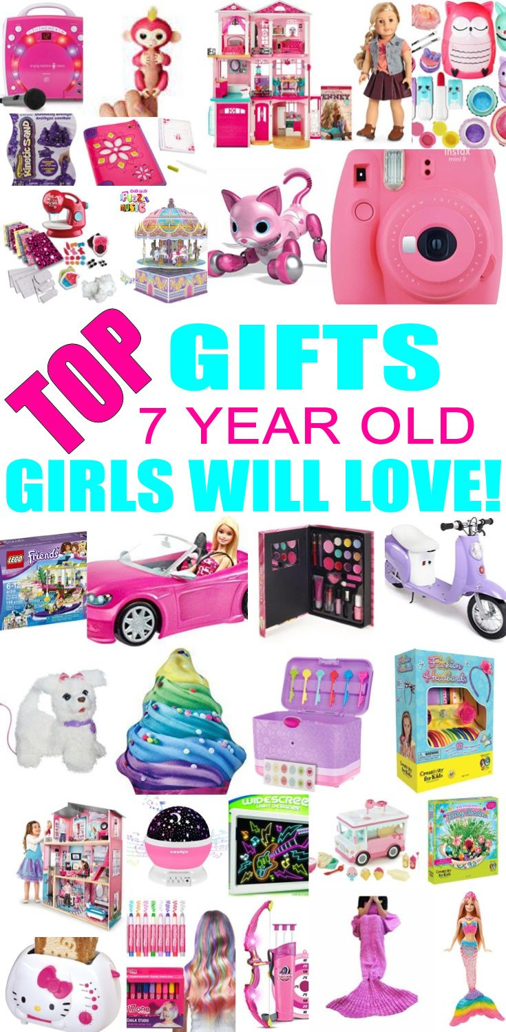 Top Gifts For 7 Year Old Girls Best Gift Suggestions Presents Seventh Birthday Or Christmas Find The Toys A 7th Bday