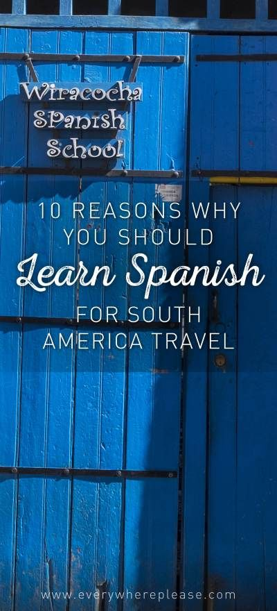 Learn Spanish | Spanish Lessons | Travel hints and tips | Spanish South America | South America Travel | Peru | Spanish Cusco