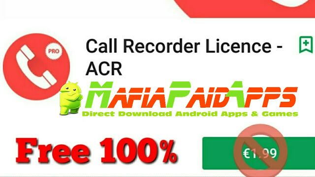 Call Recorder  ACR Premium Full v27.44 Apkfor android    Call Recorder  ACR Premium Full Apk  Call Recorder  ACR Premium Fullis aProductivityApplicationfor Android  Download last version ofCall Recorder  ACR Premium FullApk for android fromMafiaPaidAppswith direct link  Tested ByMafiaPidApps  without adverts & license problem  without Lucky patcher & google play the mod  Top call recording app  Call Recorder  ACR is an app that lets you record all telephone calls from your Android device…