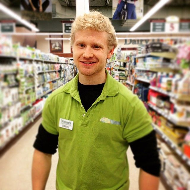 Need help finding a specific product in our #grocery department? Daniel knows the #naturesnewmarket store like the back of his hand! #organic #holistic #natural #healthyeats #cleaneating #naturesemporium #ourpeople
