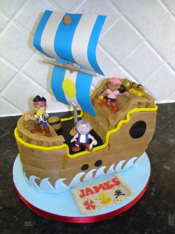 Jake and the neverland pirates cake.  By: chocchippy