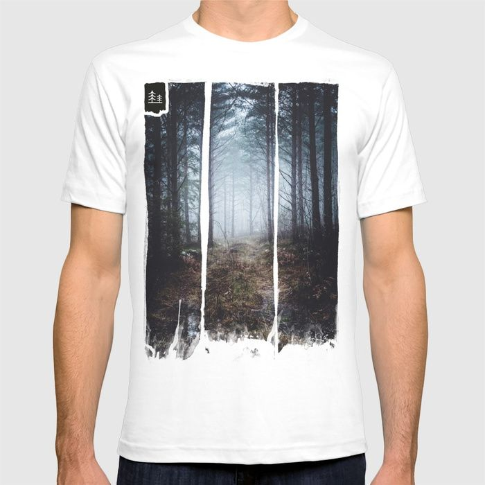 No more roads T-shirt by HappyMelvin. #forests #nature #photo #tops #fashion