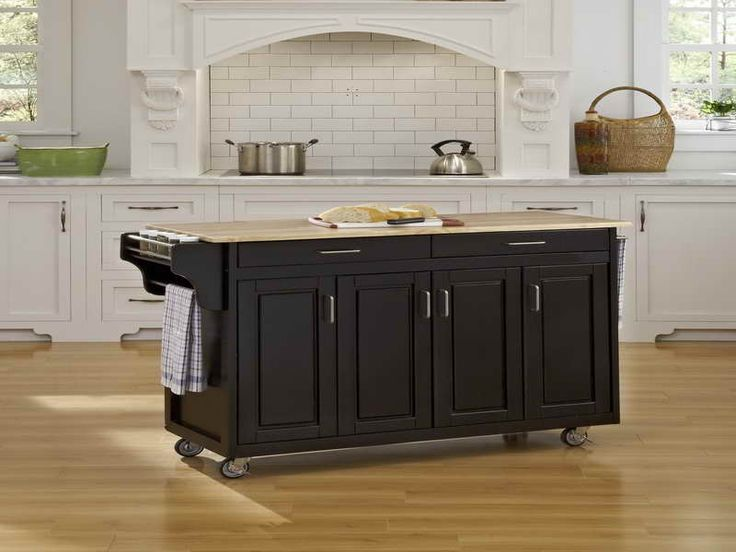 wheels for kitchen island 1000 ideas about black kitchen island on 22664
