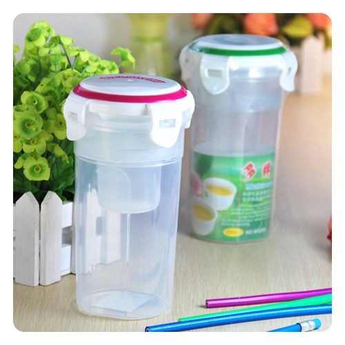Water-tight-Plastic-Cup-with-Tea-Filter-Lock-Lid-450ml