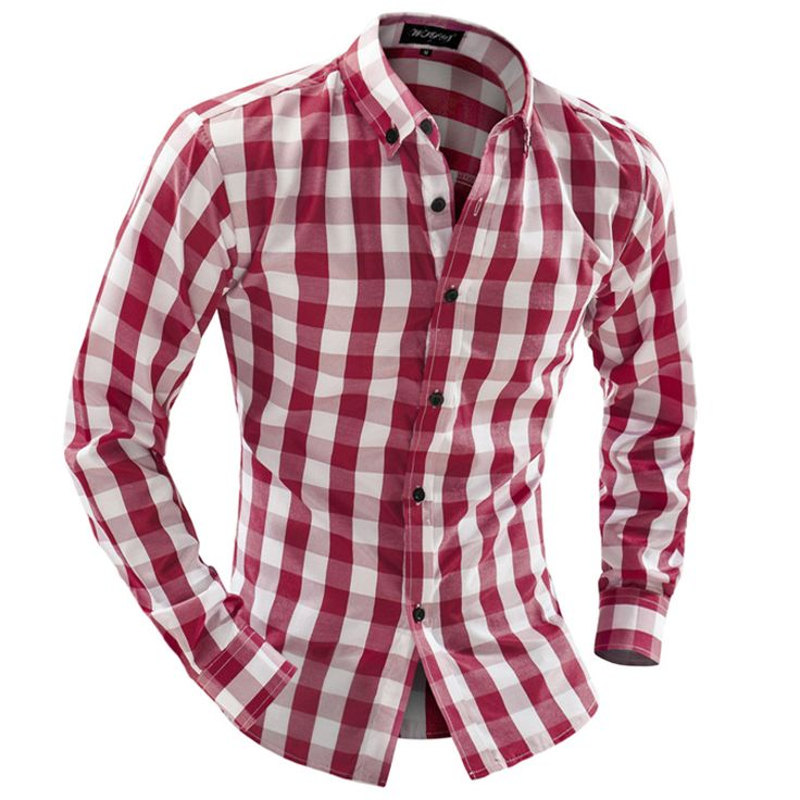 Red And White Shirt Mens | Is Shirt | Fashion | Pinterest | White ...