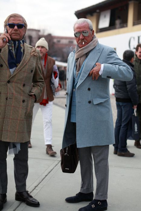 Menswear I ❤: At Pitti Uomo.