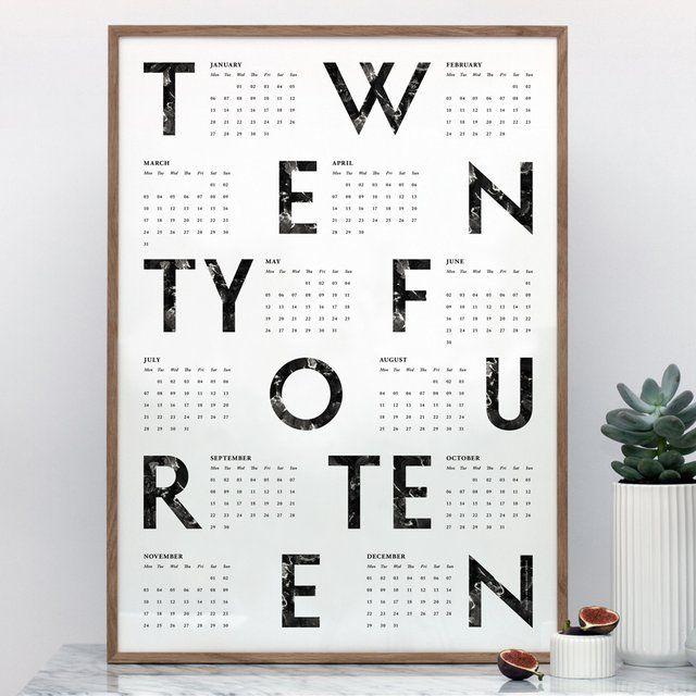 Fancy - 2014 Calendar Poster