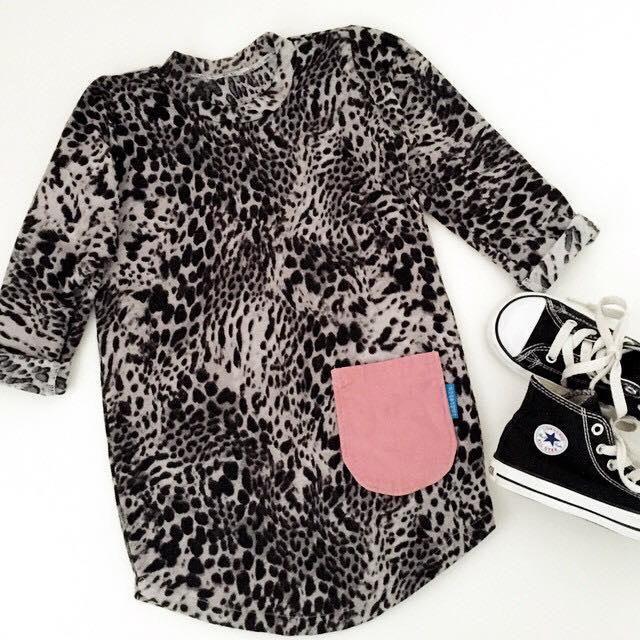 Indieblu leopard dress