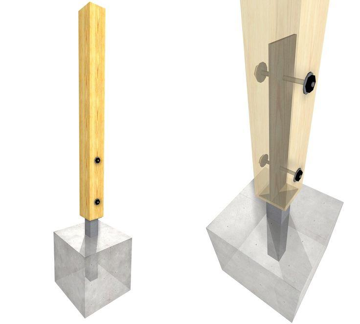 Галерея 15 Металлических фитингов для подключения Ламинированных деревянных конструкций - 2