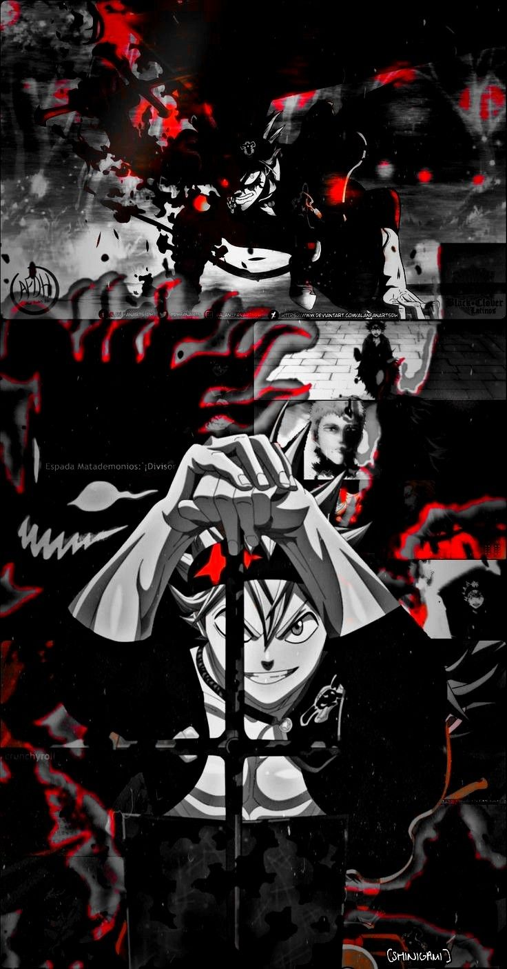 Pin By Just Someone On Demon Asta Black Clover Manga Black Clover Anime Anime Wallpaper