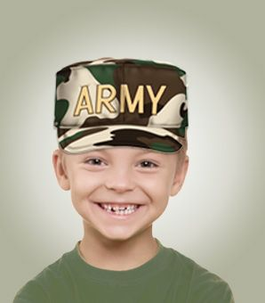 how to make a paper army hat