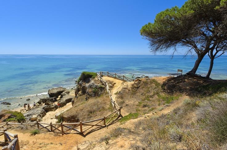 http://www.facebook.com/PauloBaptistaERA  Olhos d'Água Beach © Red Karpet Fotografia #Albufeira