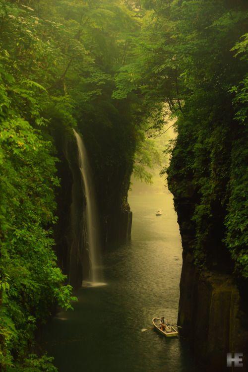 Takachiho Gorge, Miyazaki, Japan   © Hiromoto Ema