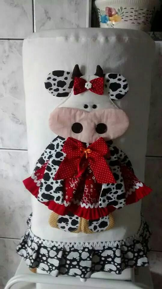 81 best vacas lindas images on Pinterest | Cow, Dish towels and Feltro