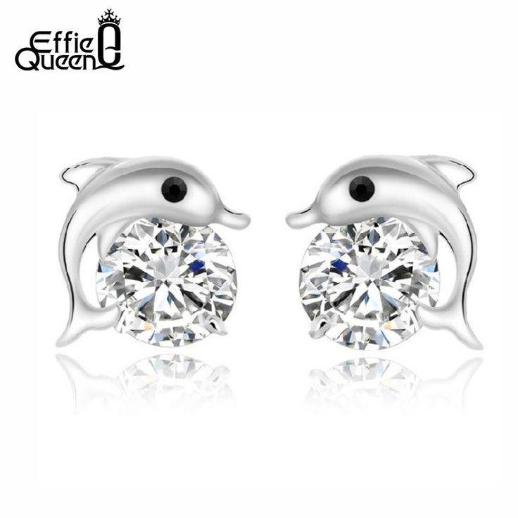 Effie queen darmowa wysyłka stadniny kolczyki z aaa austriacka cz kryształ dol…
