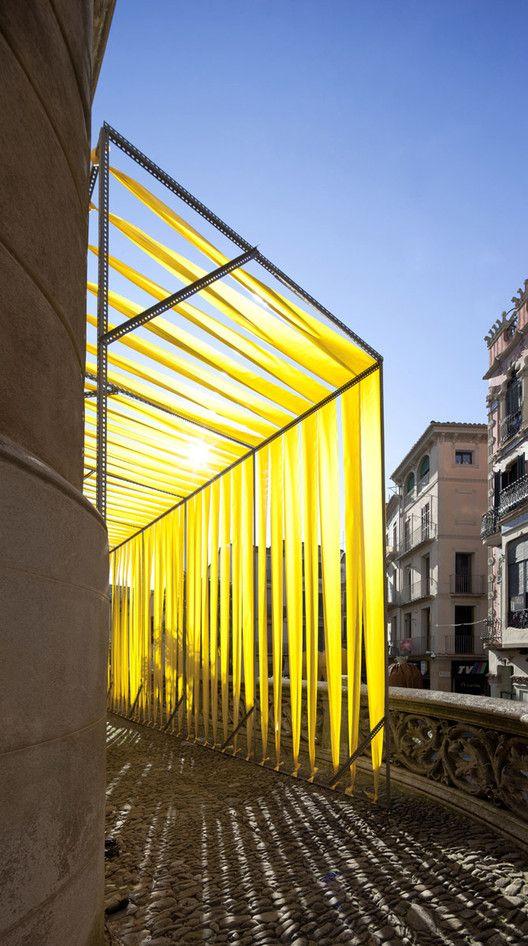 The Shadows of Sant Esteve,© Eugeni Bach #AnnaEugeniBach #Installations #LandArt