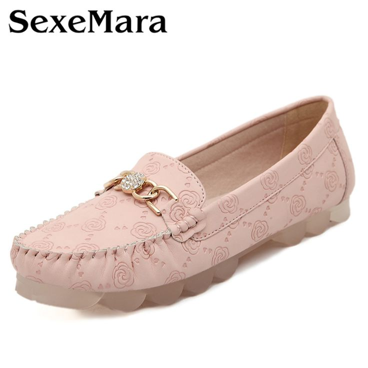 Mode Femmes en cuir véritable mère Chaussures Mocassins femmes Soft Loisirs Flats Femme Driving Chaussures plates,rose,5