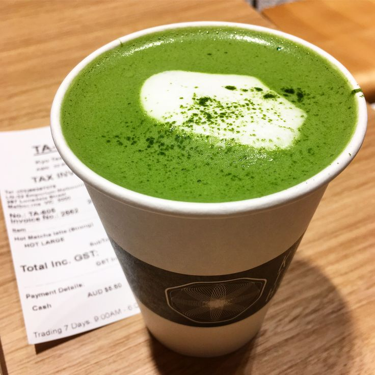 Kyo Teahouse (CBD): Matcha Latte (Strong) [9/10].